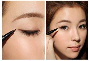 cara make up natural